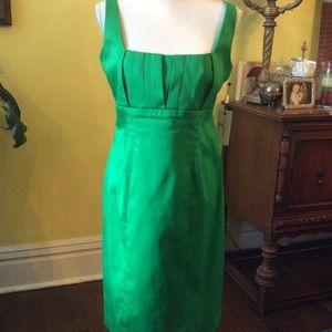 Green Calvin Klein dress NWT size 8P